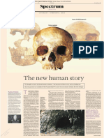 [2019 Article] Chris Stringer - The New Human Story