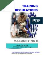 Tr - Masonry Nc II