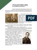 Biografía de José Rubert Tomás