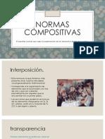 Normas compositivas