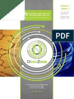 NIOH OccuZone Newsletter - Issue 1 Volume 1 July 2019