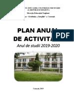 model de plan managerial gradinita