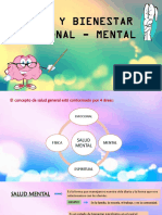 Salud y Bienestar Mental