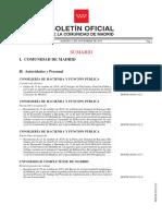 Boletín Oficial de la Comunidad