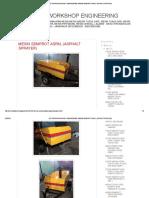 Adi Teknik Workshop Engineering_ Mesin Semprot Aspal (Asphalt Sprayer)