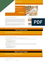 Python, Django and MySQL Project on Super Market Management System Screens