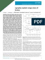 Climateandtopographyexplainrangesizesofterrestrialvertebrates.pdf