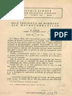 Zece inscripţii de mormânt ale Mavrocordaţilor.pdf