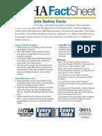 Vehicle Safe Fact Sheet