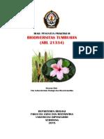 Biodiversitas Tumbuhan Penuntun Praktikum Biologi Undip