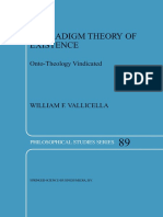 [Philosophical Studies Series 89] William F. Vallicella (Auth.) - A Paradigm Theory of Existence_ Onto-Theology Vindicated (2002, Springer Netherlands)