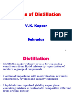 Basics of Distillation
