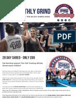 F45 28 DAY SHRED NEWSLETTER - Nov 2019.pdf