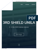 The 3rd SHIELD 2018 – International Conference