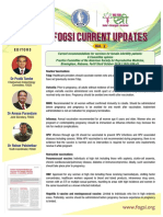 FOGSI Current Updates Vol 2