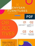 Kemysan Furnitures
