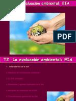 Tema 2. La Evaluación Ambiental