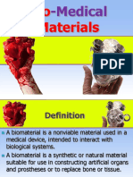 Bio and functional materials