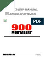 SM V900 Montabert Braker