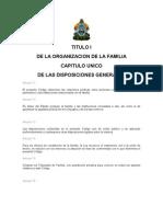 Código de la Familia de Honduras