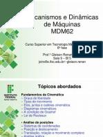 Aula 07 - MDM - Posição e Deslocamento - Análise Algébrica