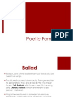 FABIA Poetic Forms