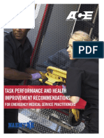 Recommended EMS Fitness Guidelines 2019