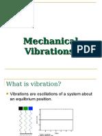 Mech Vibration - Lec 4-5