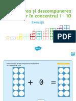 Ro t t 2545695 Compunerea Si Descompunerea Numerelor in Concentrul 1 10 Prezentare Powerpoint Cu Exercitii