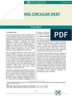 Tracking Circular Debt
