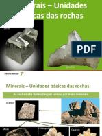 Minerais e Rochas Sedimentares