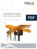 technical guide Crane system