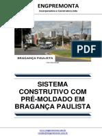 Sistema Construtivo Com Pré-moldado Em Bragança Paulista