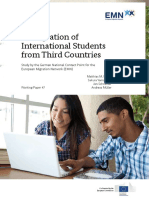 10a. Germany National Report Immigration of International Students Final en Version En
