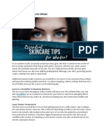 Essential Skincare Tips for Winter