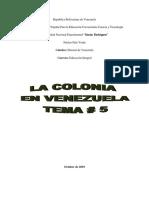 La Colonia en Venezuela