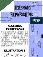 4. Algebraic Expressions