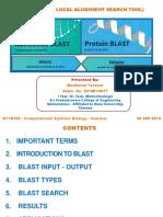 Blast (Basic Local Alignment Search Tool)