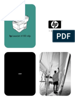 HP Laserjet 4100mfp User Guide