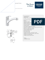 GROHE Specification Sheet 30355000