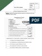 Prueba Receta y Normas  2° Basico