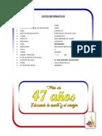 1. Datos Informativos