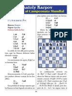 11- Karpov vs. Spassky