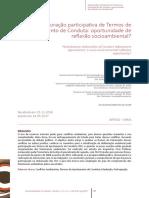Artigo - Elaboração participativa de TAC