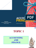 Topic 1-Accounting and Finance