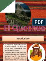 Exposicion Quechua