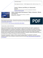 Environment Science and Policy for Sustainable Development