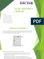 Exp 4 Teoremas de Thevenin y Norton