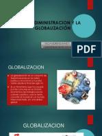 La Adiministracion y La Globalización