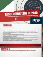 Resolución 1297 de 2010